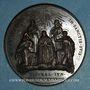 Coins Grégoire XVI (1831-1846). Canonisation de l'an 1839. Médaille bronze
