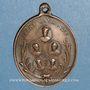 Coins Hommage aux cinq jésuites assassinés par la Commune en 1871. Médaille bronze