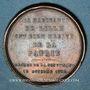 Coins Hommage aux lillois de 1792. Médaille en bronze. 1845. 26,3 mm. Gravée par A. Lecomte