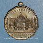 Coins Inauguration de la chapelle Saint-Ferdinand. 1.7.1843. Médaille cuivre jaune