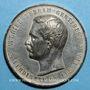 Coins Inauguration du Canal de Suez, 1869. Médaille étain. 49,5 mm.