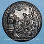 Coins Innocent XI (1676-1689). Réception des ambassadeurs du Siam, 1688. Médaille de restitution bronze