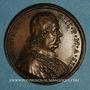 Coins Innocent XIII (1721-1724). Congrès Franciscain, 1723.  Médaille bronze