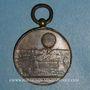Coins Le Ballon Giffard. 1879. Médaille bronze doré