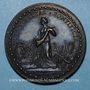 Coins Léon X (1513-1521). Libéralité pontificale. Médaille de restitution, bronze