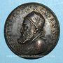 Coins Léon XI (1605). Médaille de restitution, bronze