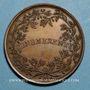 Coins Léon XII (1823-1829). Médaille Benemerenti, an II. Médaille bronze
