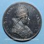 Coins Léon XII (1823-1829).  Reconnaissance de l'Hospice Apostolique, 1828. Médaille bronze.