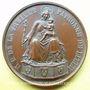 Coins Lille. 6e centenaire de Notre Dame de la Treille. 1854. Médaille en bronze. Gravée par A. Lecomte