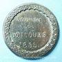 Coins Lille. Concours de 1855. Médaille en étain. 46 mm