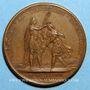 Coins Louis XIV. Bataille de Cassel. Médaille bronze 1677