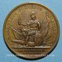 Coins Louis XIV. Bataille de Fleurus. Médaille bronze 1690