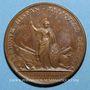 Coins Louis XIV. Bataille de Lens. Médaille bronze 1648