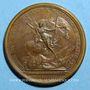 Coins Louis XIV. Bataille de Seneffe. Médaille bronze 1674