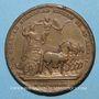 Coins Louis XIV. Campagne d'Allemagne. Médaille bronze 1678