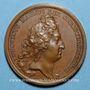 Coins Louis XIV. Distinction des marins. Médaille bronze 1693