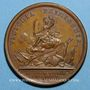 Coins Louis XIV. La bataille de Rocroi. Médaille bronze 1643