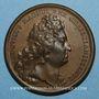 Coins Louis XIV. La France toujours victorieuse. Médaille bronze 1697