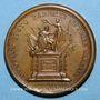 Coins Louis XIV. Mort de Louis XIII. Médaille bronze 1643