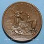 Coins Louis XIV. Paix de Westphalie. Médaille bronze 1648