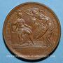 Coins Louis XIV. Prise d'Ypres. Médaille bronze 1744
