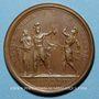 Coins Louis XIV. Prise de Bouchain. Médaille bronze 1676