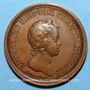 Coins Louis XIV. Prise de Phillipsbourg. Médaille bronze 1644