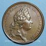 Coins Louis XIV. Prise de Phillipsbourg. Médaille bronze 1688