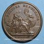 Coins Louis XIV. Prise de Tortosa. Médaille bronze 1648