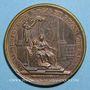 Coins Louis XIV. Régence d'Anne d'Autriche. Médaille bronze 1643