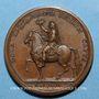 Coins Louis XIV. Seconde prise de Dôle. Médaille bronze 1674