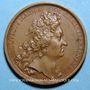 Coins Louis XV. Prise du fort de Kehl. Médaille bronze 1703