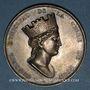 Coins Lyon. Conseil municipal. Médaille argent