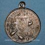 Coins Lyon. Souvenir de la sortie de la société Les Guillemochains 12 juin 1898. Médaille en bronze