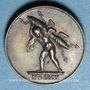 Coins Mariage à Paris de Napoléon I avec Marie-Louise d'Autriche. 1810. Médaille en argent. 16 mm