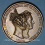 Coins Mariage du Prince de Hesse-Darmstadt et de la Princesse Elisabeth de Prusse. 1836. Médaille bronze