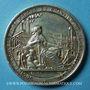 Coins Marseille. La Seyne. Société des Forges et chantiers de la Méditerranée. 1855. Médaille en argent