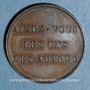 Coins Médaille de piété en cuivre