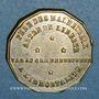 Coins Mort du banquier Laffitte. 1844. Médaille cuivre jaune