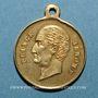 Coins Mort du Prince Jérôme. 24.6.1860. Médaille cuivre jaune