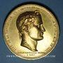 Coins Napoléon I. Retour des Cendres. 1840. Médaille cuivre doré gravée par Montagny