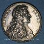 Coins Olivier Patru, avocat, doyen de l'Académie Française (1604-1681). Médaille argent gravée par Dassier