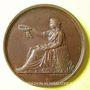 Coins Paris. 1er tournoi allemand de gymnastique. 1865. Médaille en bronze. 42 mm. Gravée par Kaufmann