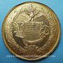 Coins Paris. Exposition universelle. 1867. Médaille en bronze doré. 50,4 mm. Gravée par E. Ferret