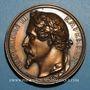 Coins Paris. Exposition Universelle de 1855. Médaille en bronze. 68 mm