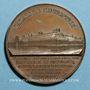 Coins Paris. Exposition Universelle de 1855. Médaille en cuivre. 30,60 mm