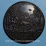 Coins Paul II (1464-1471). Scène de chasse. Médaille de restitution, bronze