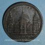 Coins Paul III (1534-1549). Jubilée, 1550. Médaille de restitution, bronze