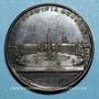 Coins Pie VII (1800-1823). Place du Peuple, 1823. Médaille bronze