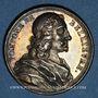 Coins Pompone de Belliévre, magistrat (1529-1607). Médaille argent gravée par Dassier